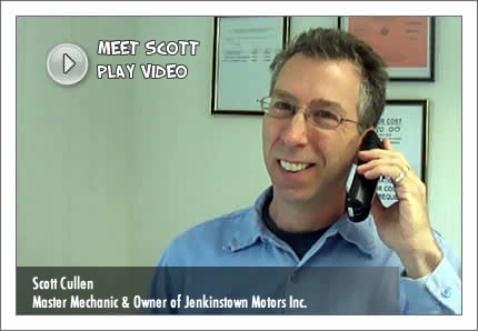Meet Scott Cullen - Owner of Jenkinstown Motors